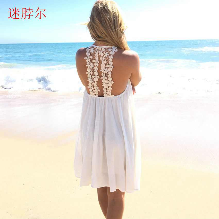 2017 dress spring summer womens sexy dresses above knee mini lace dress women summer women mini dress women S-XXL(China (Mainland))