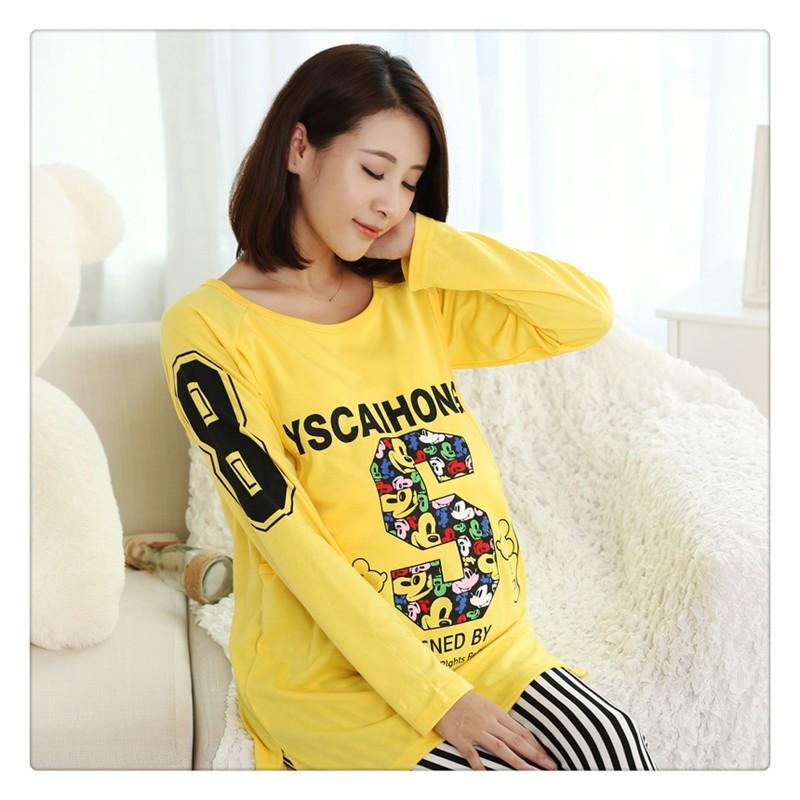 Pregnant Women Nursing Sleepwear  (3)