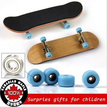 2016 Professional Game Fingerboard Maple Wood Finger Skateboard Alloy Bearing Wheel Fingerboard Novelty Skate De Dedo Fingerbord