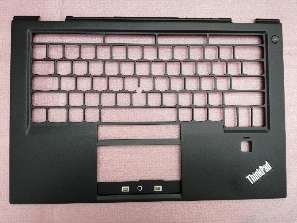 New Original For Lenovo Thinkpad X1 Carbon 4th 2016 20FB 20FC Keyboard Bezel Palmrest With Fingerprint Hole US Version SB30K5926 все цены