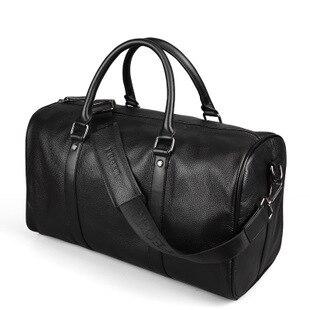 Мужская дорожная сумка из натуральной кожи F1009