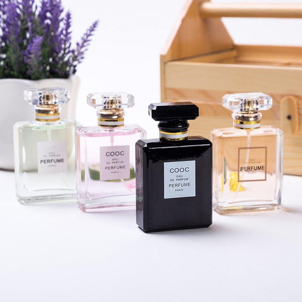 Essence Oil 50ML Natural Aroma Body Fragrance Women  Long Lasting Refreshing Aromatherapy Bottle Glass Flower Fragrance Cologne