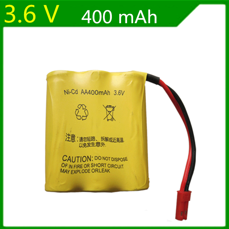 20 PCS/LOT Genuine 3.6V 400mAh Ni-Cd rechargeable batteries huanqi 545 607 665 661 635 remote control car battery