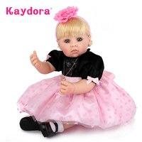 Kaydora 50 см принцесса кукла lol bonecas princesas очаровательные реалистичные живые детские куклы для девочек BeBe Reborn boneca силиконовые игрушки