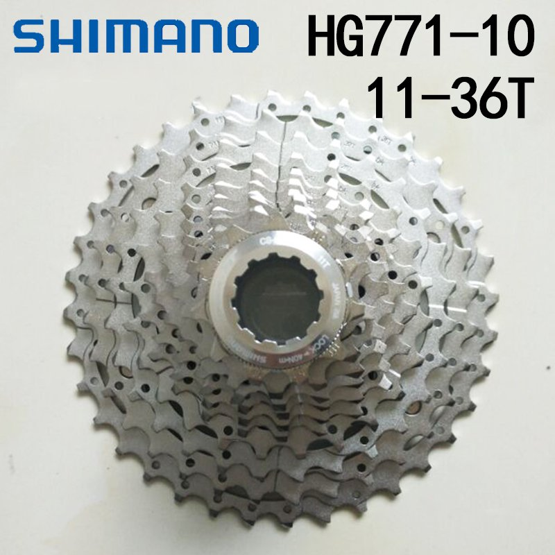 Shimano XT CS-M771 10 Speed MTB Bike Bicycle Cassette Dyna Sys 11-32T 11-34T 11-36T цена