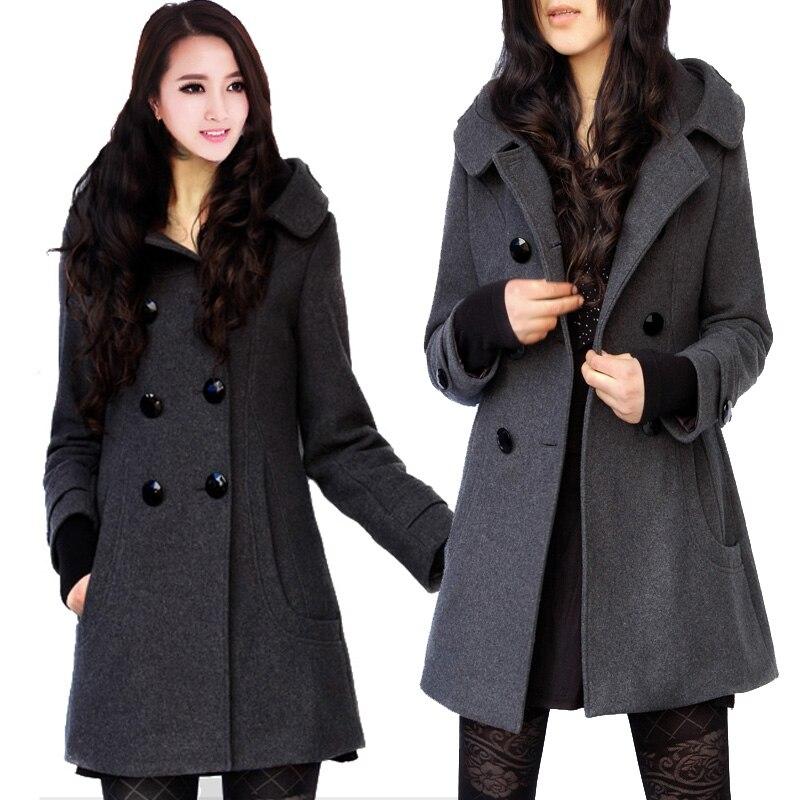 Plus Size Pea Coats Women