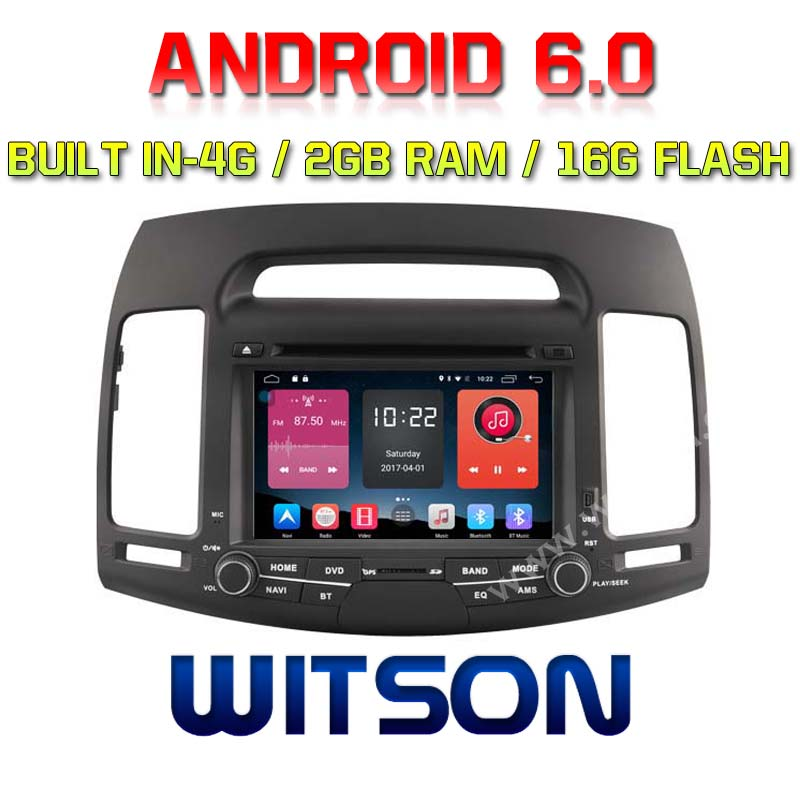 Witson Quad Core Android 6 0 Car Dvd Player For Hyundai