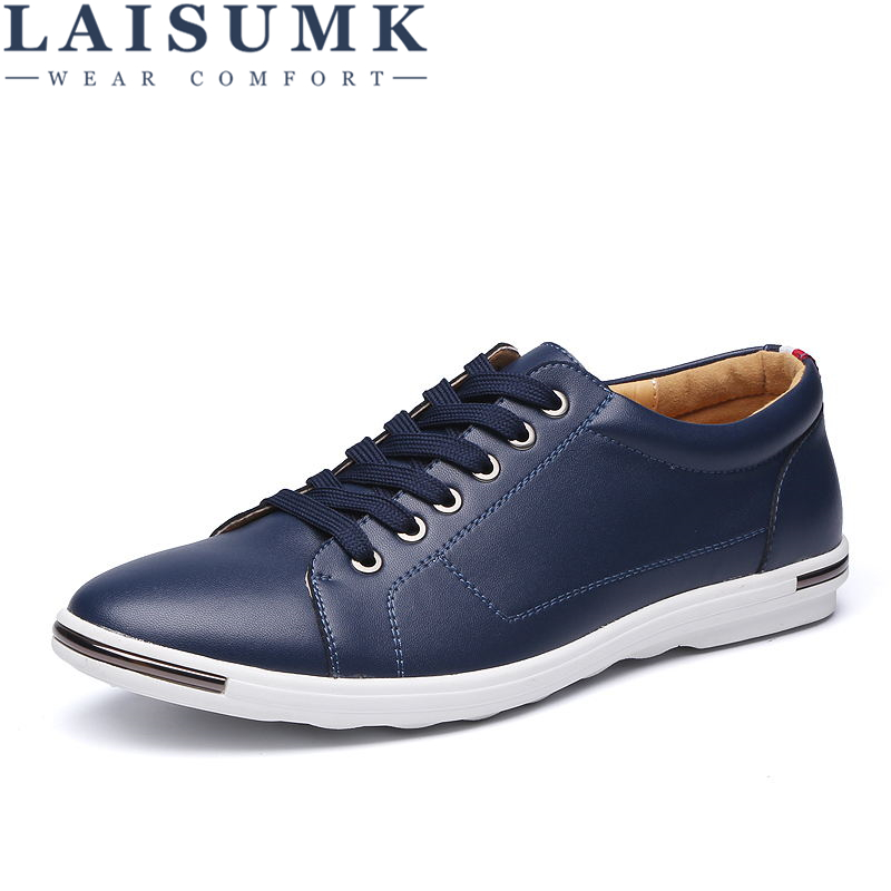 2018 LAISUMK Leather Men Casual Shoes Spring Breathable Soft Driving Men's Handmade Chaussure Homme Net Surface Loafers genuine leather men casual shoes summer loafers breathable soft driving men s handmade chaussure homme net surface party loafers