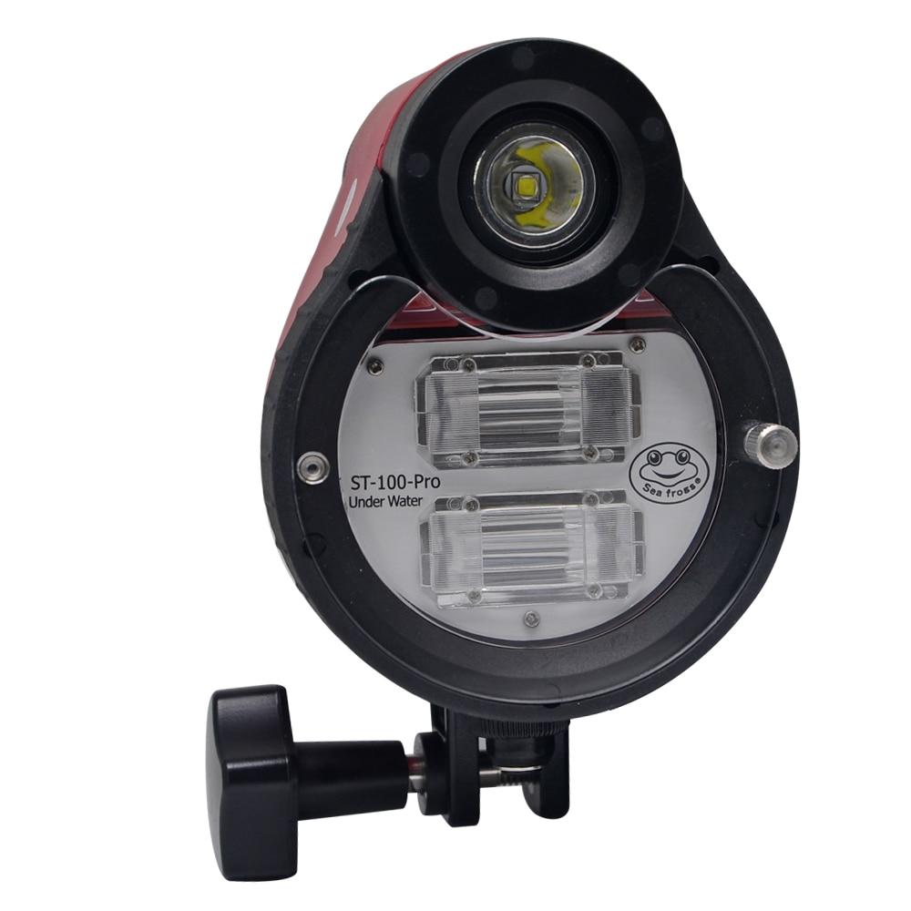 Mcoplus ST-100 Waterproof Flash Speedlite for A6500 A6000 A7 II RX100 I/II/ III/IV/V underwater Camera Housings Diving Case шлем hjc cl st ii