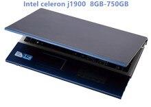 8GB RAM 750GB HDD 15 6 inch 1920 1080P Intel Celeron J1900 Quad Core font b
