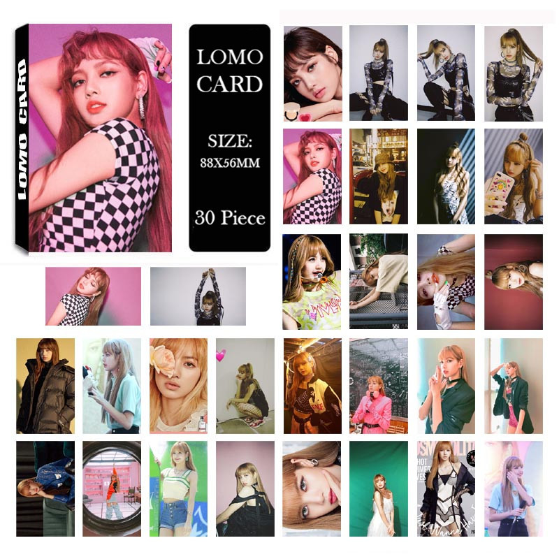 Jewelry Findings & Components Kpop Blackpink Square Up Album Lomo Cards Lisa Self Made Paper Photo Card Hd Photocard Lk118 More Discounts Surprises Beads & Jewelry Making