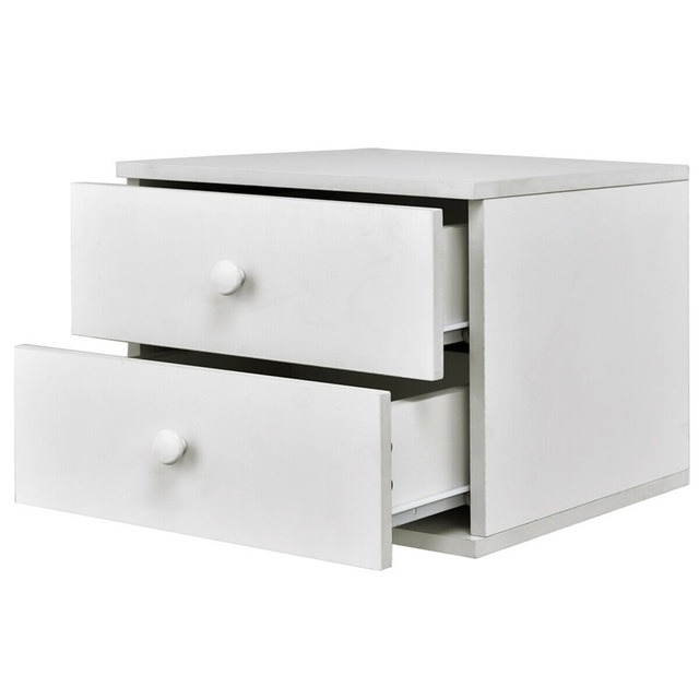 Bedroom Nightstand with 2 Drawers