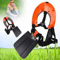 Double Padded Strimmer Brushcutter Harness Quick Release Shoulder Straps Suits