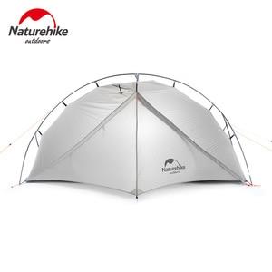 Image 2 - Naturehike VIK serisi Ultralight su geçirmez 1 kişi tek katmanlı açık seyahat çadırları yürüyüş kamp çadırı