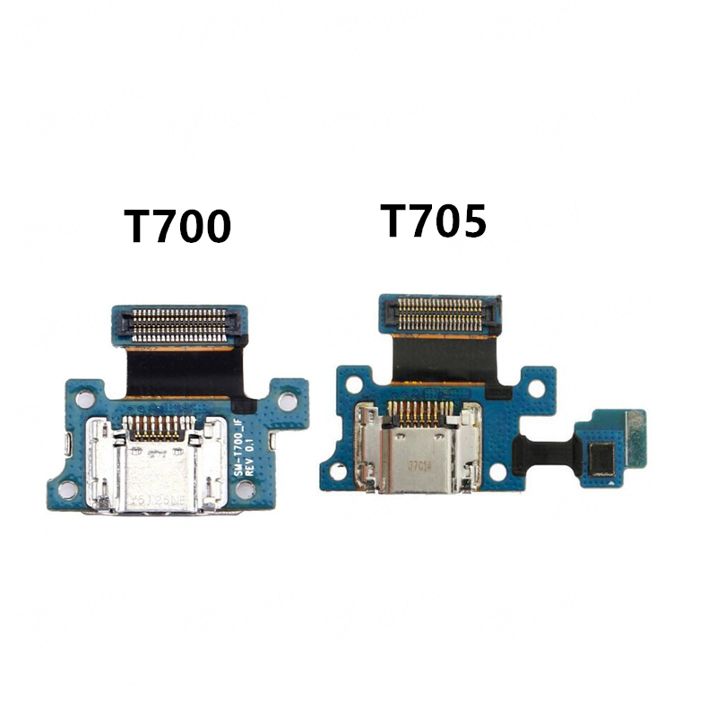 High Quality USB Charging Dock Flex Cable For Samsung Galaxy Tab S 8.4 T700 T705 SM-T700 SM-T705 Charger Port Connector Board