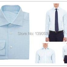 9f45ad1f8988 custom made 100% cotton light blue slim fit long sleeve design formal dress  shirts plus