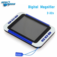 2 32x 3.5Inch Handheld Portable Video Digital Magnifier Electronic Reading Aid Low Vision