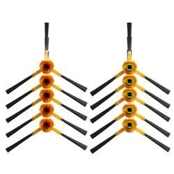 10 шт. робот-пылесос сбоку Кисточки Замена Для Ecovacs Deebot тонкий DA60 робот-пылесос части Интимные аксессуары Кисточки ES