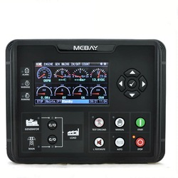 DC72D DC72DR Generator Set Controller for Diesel Gasoline Gas Genset Parameters Monitoring With 4.3 LCD Screen Display