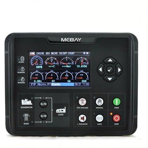 dc72d dc72dr controlador de grupo gerador diesel para a gasolina gerador de gas parametros de