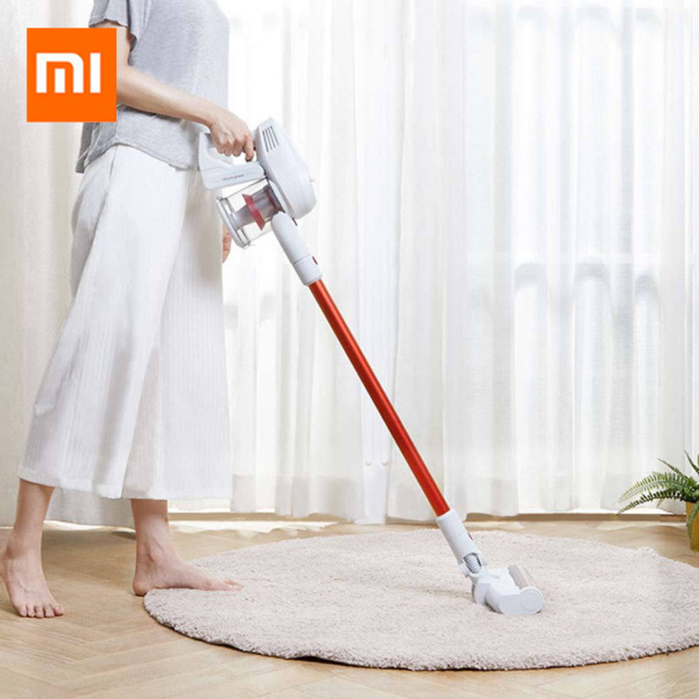 Xiaomi Vacuum Cleaner JIMMY JV51 Handheld Wireless Vacuum Cleaner Strong Suction Vacuum Dust Cleaner 10000rpm From Xiaomi Youpin xiaomi roidmi xcq01rm portable handheld strong suction vacuum cleaner z25