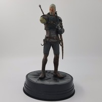 The Witcher 3 Action Figures Dark Horse Deluxe Wild Hunt Geralt Figure PVC Game Figure Collection Model Toy