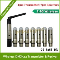 DHL Free Shipping 2 4g Wireless Dmx Signal Transmitter Wireless Dmx For Wireless Dmx Light