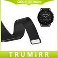 22mm Milanese Laço Cinta de Aço Inoxidável para o Vetor Luna Meridiano Inteligente Relógio Banda Fivela Pulseira Magnética + Liberação Rápida pinos