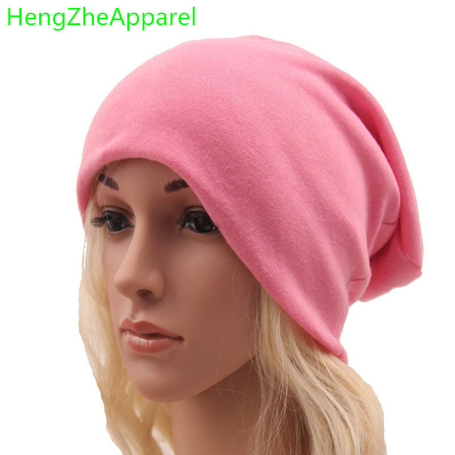 9a902675608ad8 New autumn winter spring hats hip-hop street style loose casual hats for men  women knitted cotton adult beanies winter wear caps