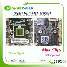 2MP Full HD 30fps High Definition Good night vision CCTV IP camera Boards Module p2p 3516C, Onvif, Free P2P Series No.