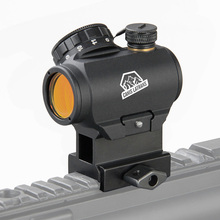Canis Latrans 1x20mm HD reflex sight with 20mm weaver mount Reticle : 3MOA red dot GZ2-0069 canis 2 3 тл