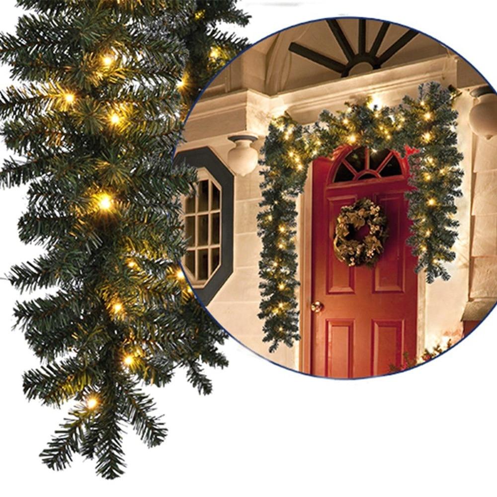 2.7M Christmas Decorations Ornaments Xmas Tree Garland ...