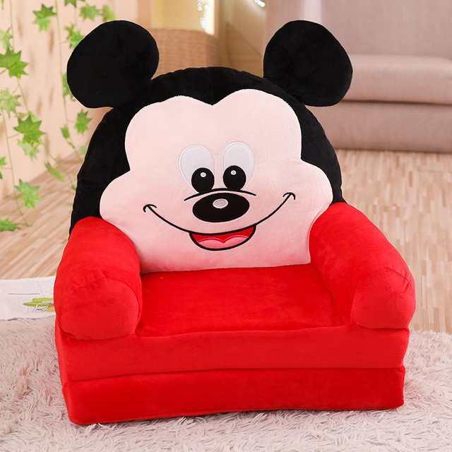 Us 35 75 12 Off Children S Small Sofa Cartoon Seat Girl Boy Princess Baby Sofa Chair Stool Lazy Tatami Single Cushion Child Gift In Children Sofas