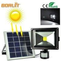 20W Solar LED Dark Sensor Solar Light Lamp Spotlight Wall Lamps Floodlight Outdoor Waterproof Path Emergency