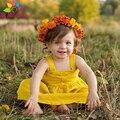 He hello enjoy summer2017 batismo dress recém-nascidos do bebê girls dress 1 anos de aniversário do bebê sem mangas backless bow condoer belt dress