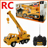 1 26 Remote Control Crane Electric Engineering Vehicles 4 Channel Car Wireless RC Model Toys Oversized