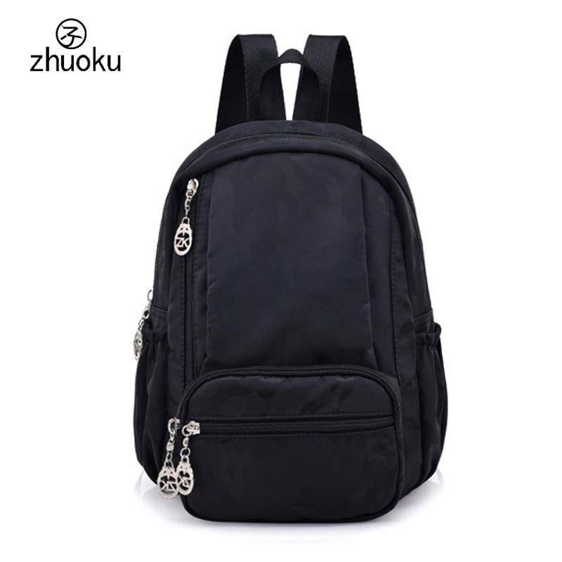 077c6cbe55 Waterproof nylon Women s backpack Small Mini School bags for girls birthday  gift mochila free shipping ZK782