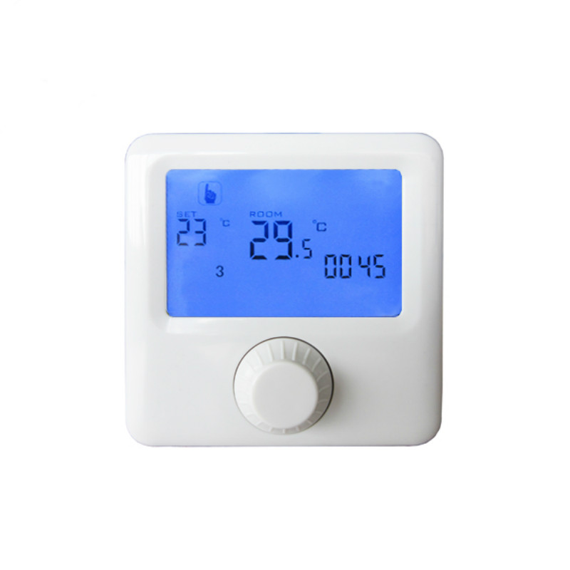 Room Underfloor Thermostat Temperature Controller for underfloor heating digital  programmable 220v 16A hot sale digital boiler electric heating temperature instruments thermostat thermoregulator 16a air underfloor with floor sensor