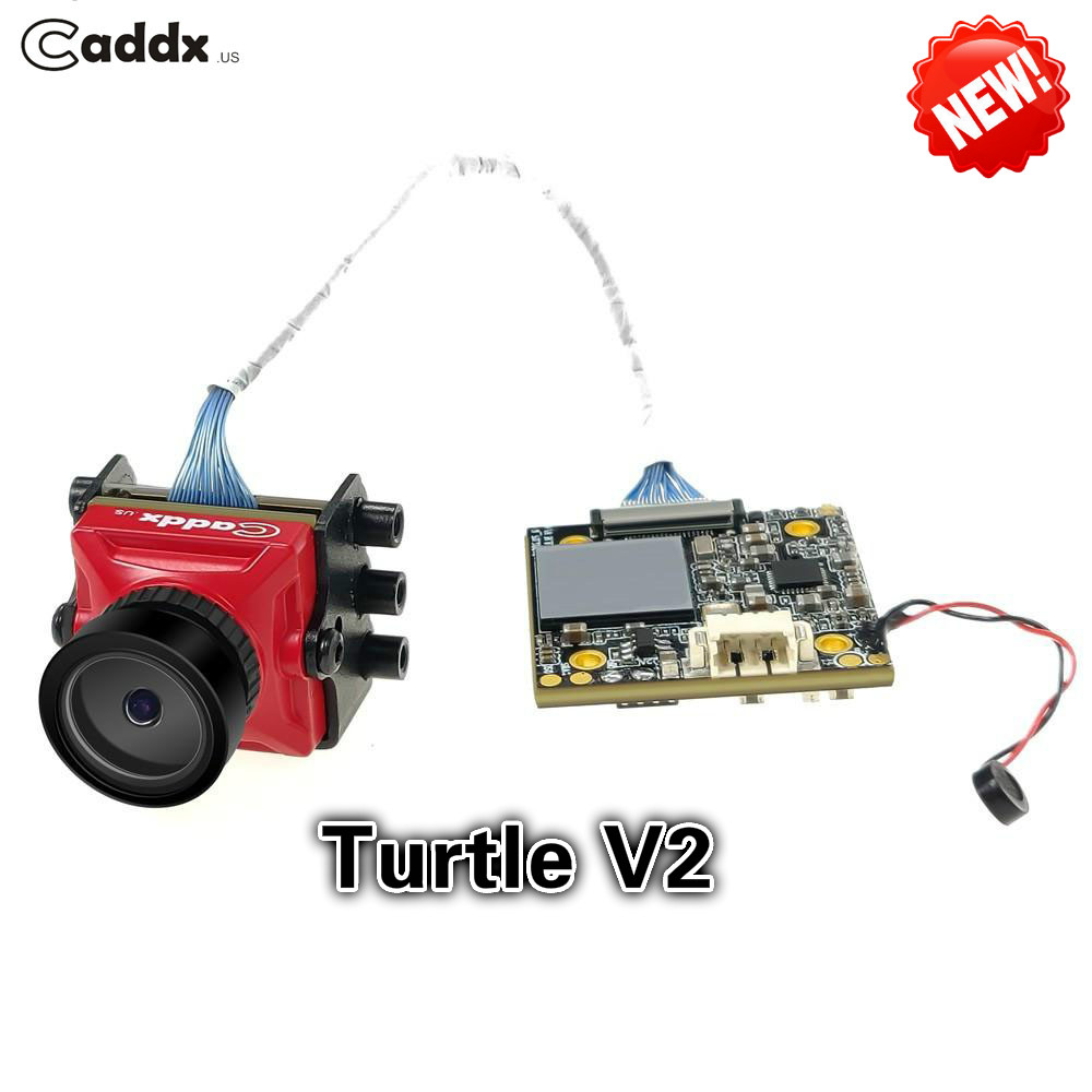 New Arrival Caddx Turtle V2 1080P 60fps 800TVL HD FPV Camera FOV 155 Degree FPV Action Camera for Racing Drone Quadcopter 100% original new runcam 2 fpv hd camera av out fpv camera runcam2 1080p 120 angle wifi for walkera qav250 rc racing drone