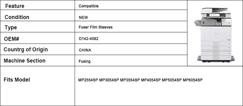 mp3054sp mp3554sp mp4054sp filme de fixação