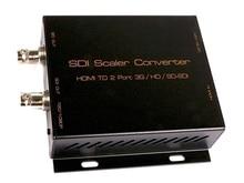 Hotspot HSV195 HDMI zu SDI (SD-SDI, HD-SDI und 3G-SDI signal) Converter mit scaler/unterstützt maxim SDI übertragungs