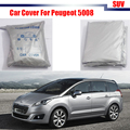 Outdoor Car Cover UV Anti Rain Sun Snow Preventing Protector Cover Dustproof For Peugeot 5008
