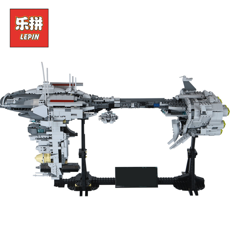 LEPIN 05083 Star Set Wars MOC Series the Nebulon-B Medical Frigate Set Children Educational Building Blocks Bricks Toys Model high quality men s business gift set sunglasses belt boy birthday surprise quartz watch gift box new year s gift including box