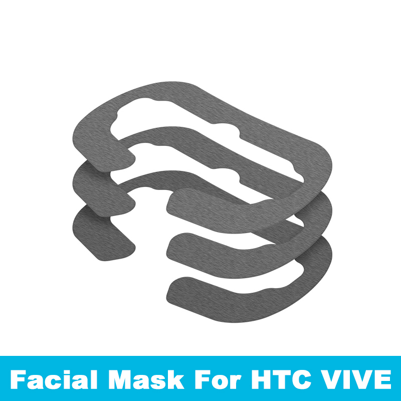 (10 pack) Original VR Protection Cloth Mask Goggles Pad Disposable health eye patch For Htc Vive headset VR Virtual Reality