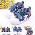 Bebés meninas meninos lona sapatos macios Prewalkers sapatos da criança anti-derrapante bebê esportes casuais meninos sapatilha Crib Shoes Bebe