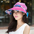 Summer Sun Hat Для Женщин Чешского Стиль Распечатать Большие Козырьки Пляж Шляпа Моды Chapeu Feminino Складная Путешествия Открытый Шляпы 3103