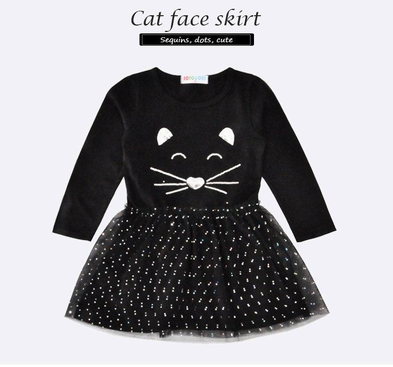 Niña vestido gatos lentejuelas ropa de bebé familia niños vestidos para  niñas niño playa vestido borla moda 2017 niños niñas 973f9d34470d