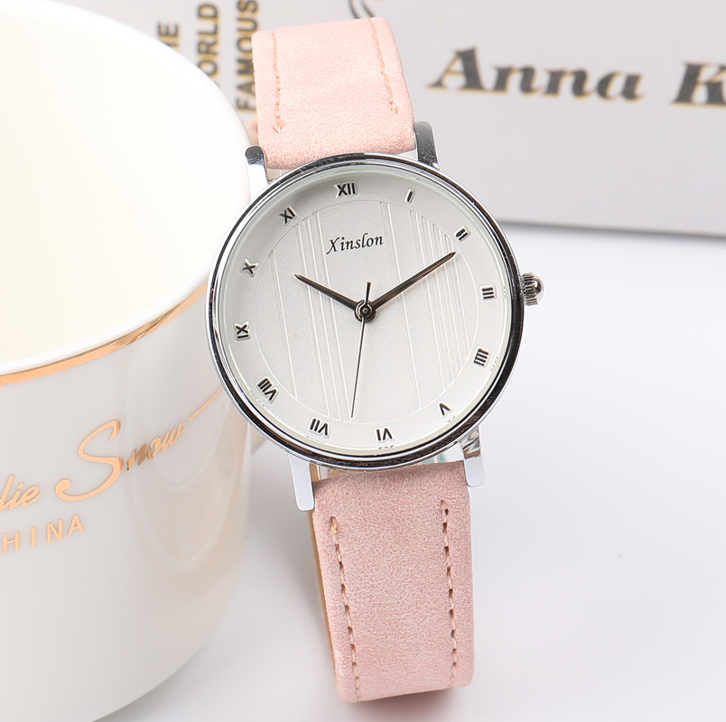 2018 New Fashion Womens Watches Luxury Brand Leather Band Fashion Ladies Dress Quartz Wristwatches Waterproof Ladies Watch in Women 39 s Watches from Watches