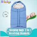 Thicken Baby Sleeping Bag Baby Stroller Sleeping Bag Winter Warm Sleepsacks Robe For Infant wheelchair envelopes for newborns