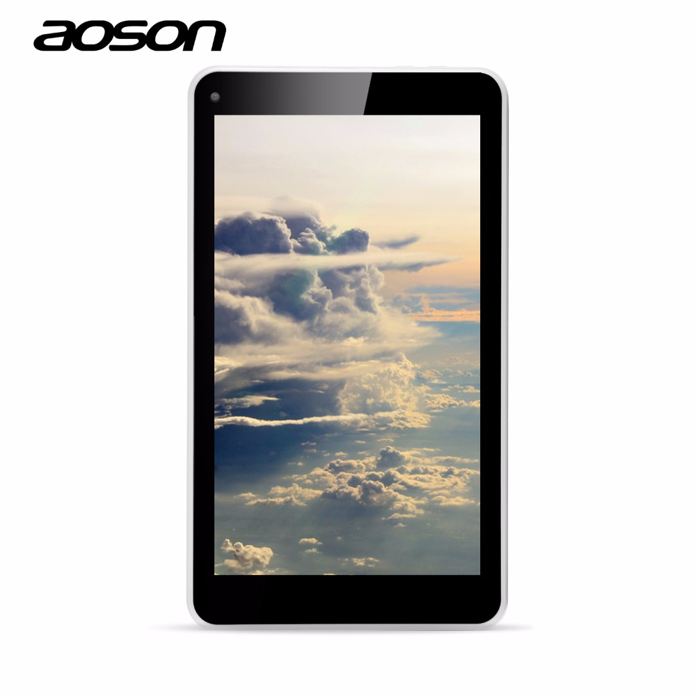 NEW Aoson M751S-BS 7 Inch Kid Children Tablet PC Quad Core Wifi 3G External 512MB RAM 8GB ROM Dual Camera Android 4.4 2MP Camera